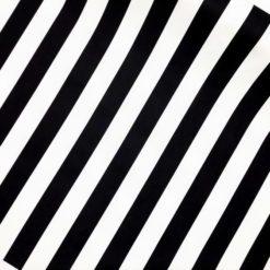 Siyah Çizgili Kumaş