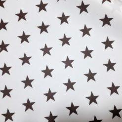 Vizon Rengi Büyük Yıldızlar Kumaş