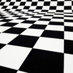 Siyah Beyaz Kumaş