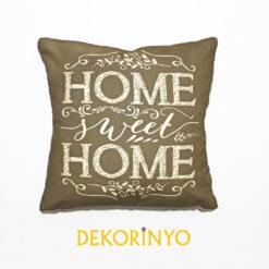 Home Sweet Home Vizon Kırlent