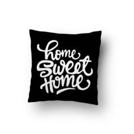 El Yazısı Home Sweet Home Kırlent