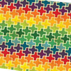Rengarenk Artılar Kumaş