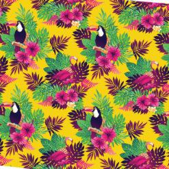 Tukan Kuşları Kumaş