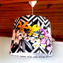 Zigzag ve Çiçekli Sarkıt Lamba