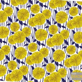 Nilüfer Çiçekleri Kumaş