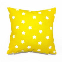 Sarı Yıldızlı Kırlent