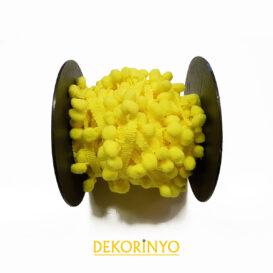 Sarı Ponpon Şerit