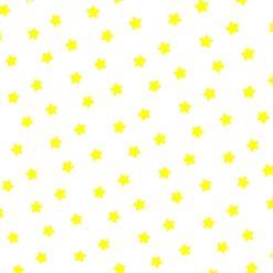 Sarı Yıldızlı Kumaş