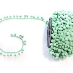 Mint Ponpon Şerit