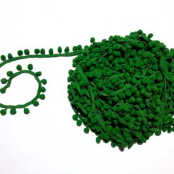 Yeşil Ponpon Şerit