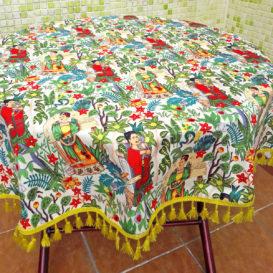 Frida Bahçesi Masa Örtüsü