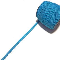 Mavi Örme Şerit