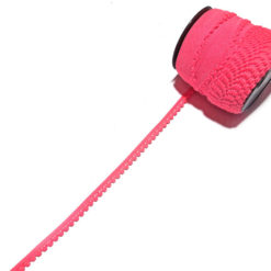 Neon Pembe Örme Şerit