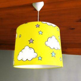 Sarı Bulutlu Sarkıt Lamba