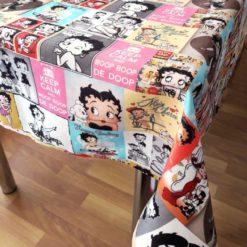 Betty Boop Masa Örtüsü