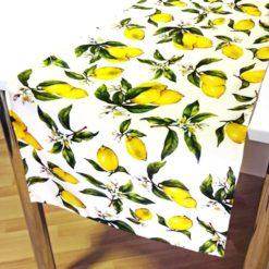 Limon Desenli Runner