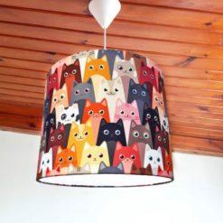 Sevimli Kediler Sarkıt Lamba