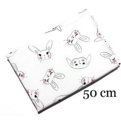 Sevimli Tavşanlar Parça Kumaş