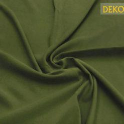 Haki Yeşili Düz Döşemelik Kumaş
