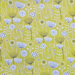 Çiçekli iskandinav Esintileri Kumaş