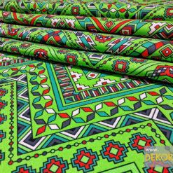 Aztek Desenli Kumaşlar