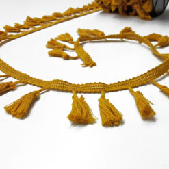 Hardal Sarısı Püskül Şerit