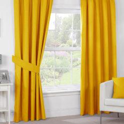Sarı Dekoratif Perde