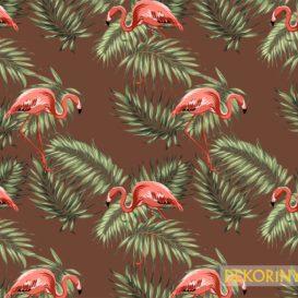 Ufak Tefek Flamingolar Kumaş
