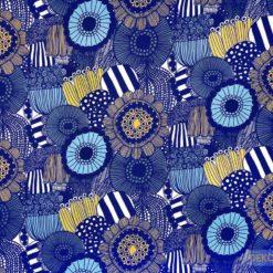 Afrika Çiçekleri Kumaş
