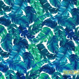 Muz Yaprağı Desenli Kumaş