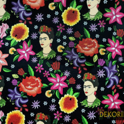 Frida ve Meksika Ateşi Kumaş