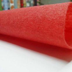 Kırmızı Renkli Keçe