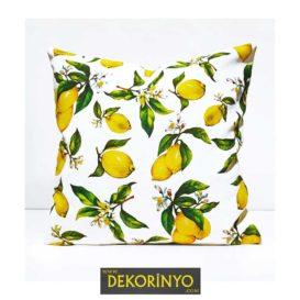 Limon Desenli Kırlent