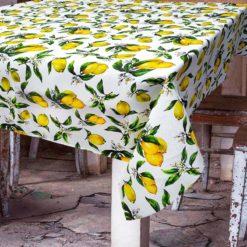 Limon Desenli Masa Örtüsü