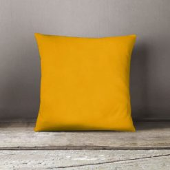 Sarı Dekoratif Kırlent