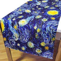Van Gogh Yıldızlı Gece Runner