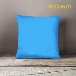 Açık Mavi Renkli Dekoratif Kırlent