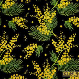 Mimoza Desenli Döşemelik Kumaş