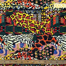 Safari Desenli Döşemelik Kumaş